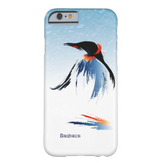 Pingüino congelado del hielo funda barely there iPhone 6