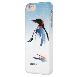 Pingüino congelado del hielo funda barely there iPhone 6 plus