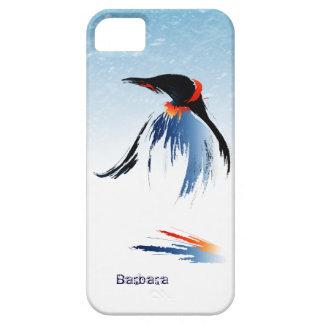 Pingüino congelado del hielo funda para iPhone SE/5/5s