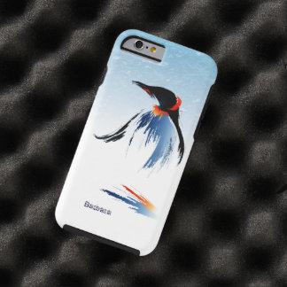 Pingüino congelado del hielo funda resistente iPhone 6