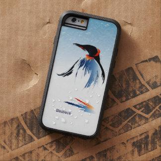 Pingüino congelado del hielo funda tough xtreme iPhone 6