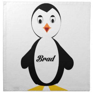 Pingüino de Brad Servilletas