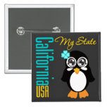 Pingüino de California los E.E.U.U. Pins