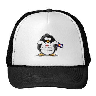 Pingüino de Colorado Gorras De Camionero