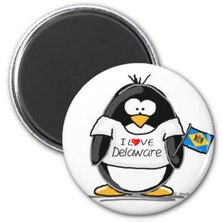 Pingüino de Delaware Imán