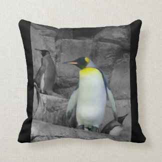 Pingüino de emperador cojín