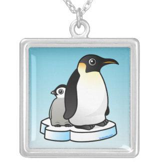 Pingüino de emperador collares personalizados
