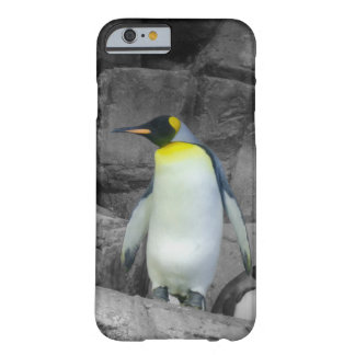 Pingüino de emperador funda de iPhone 6 barely there