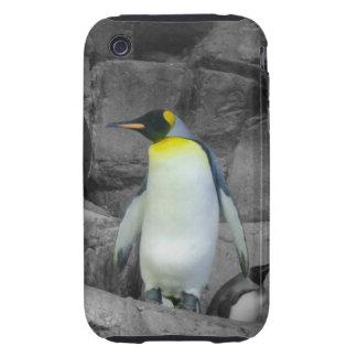 Pingüino de emperador iPhone 3 tough carcasas