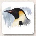 Pingüino de emperador posavaso