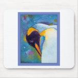 Pingüino de emperador tapete de ratón