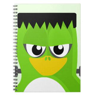 Pingüino de Frankenstein Libreta Espiral