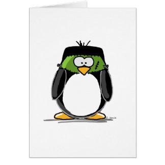 Pingüino de Frankenstein Felicitacion