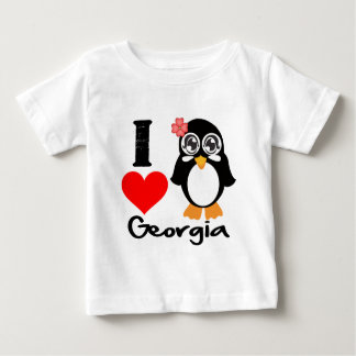 Pingüino de Georgia - amor Georgia de I Tshirts