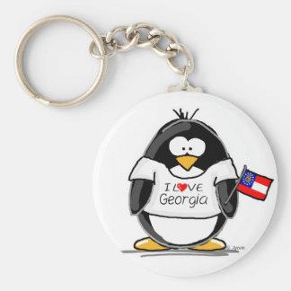Pingüino de Georgia Llavero