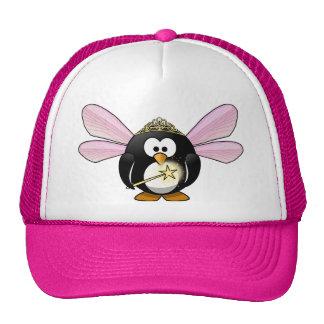 Pingüino de hadas gorras