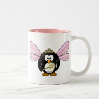 Pingüino de hadas tazas de café
