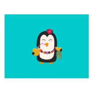 Pingüino de Hawaii Tarjeta Postal