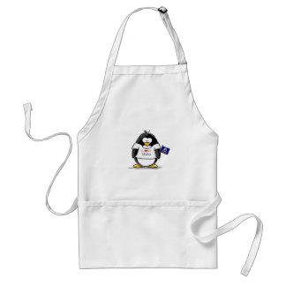 Pingüino de Idaho Delantal