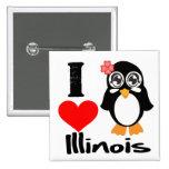 Pingüino de Illinois - amor Illinois de I