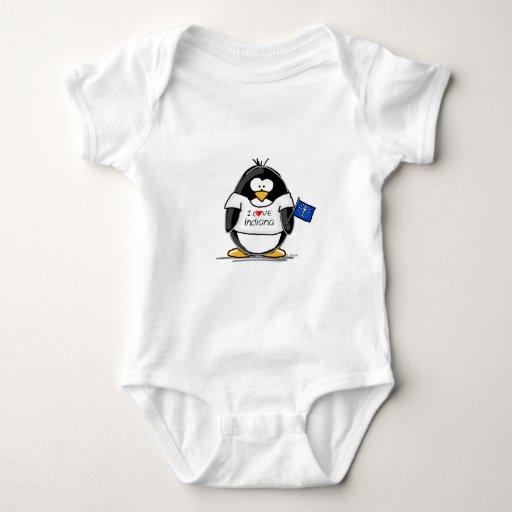Pingüino de Indiana Playeras