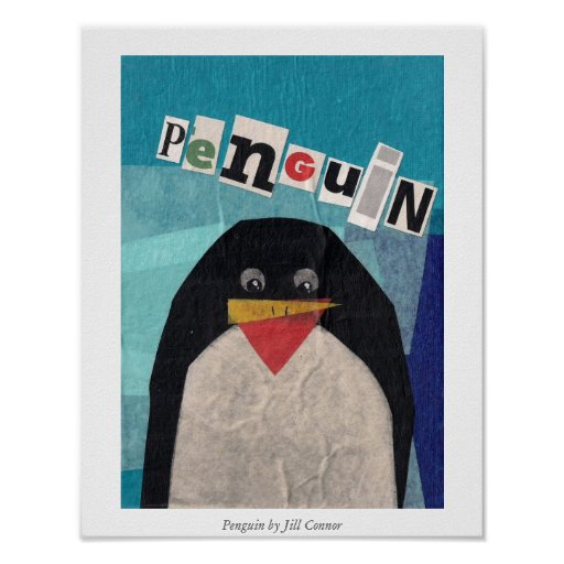Pingüino de Jill Connor Poster