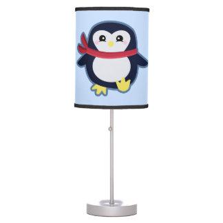 Pingüino de Kawaii Lámpara De Escritorio