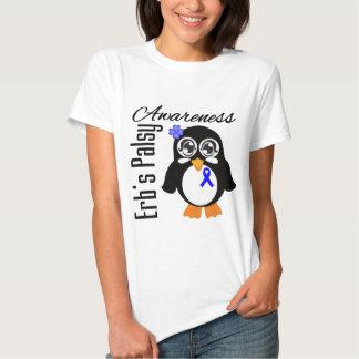 Pingüino de la conciencia de Palsey de Erb Playera