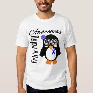 Pingüino de la conciencia de Palsey de Erb Playeras