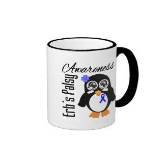 Pingüino de la conciencia de Palsey de Erb Taza A Dos Colores