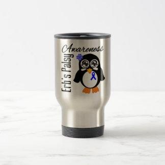 Pingüino de la conciencia de Palsey de Erb Taza De Viaje De Acero Inoxidable