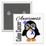 Pingüino de la conciencia del cáncer de colon