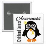 Pingüino de la conciencia del cáncer de la niñez