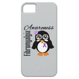 Pingüino de la conciencia del Fibromyalgia iPhone 5 Fundas