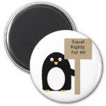 Pingüino de la Favorable-Igualdad Iman De Nevera