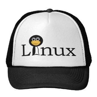 ¡Pingüino de Linux! Gorras De Camionero