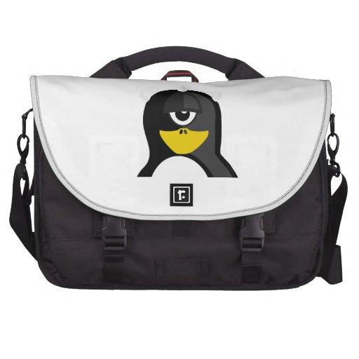 Pingüino de los Cyclops Bolsa De Ordenador