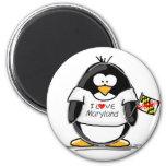 Pingüino de Maryland Imán De Frigorifico