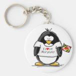 Pingüino de Maryland Llavero