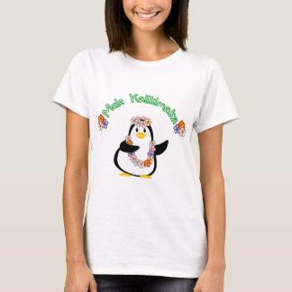 Pingüino de Mele Kalikimaka Playera