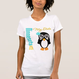Pingüino de Minnesota los E.E.U.U. Playera