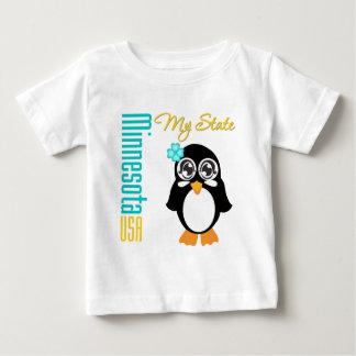 Pingüino de Minnesota los E.E.U.U. Playeras