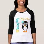 Pingüino de New Jersey los E.E.U.U. Camiseta