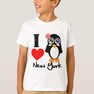 Pingüino de Nueva York - amor Nueva York de I Poleras