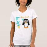 Pingüino de Nueva York los E.E.U.U. Camiseta
