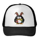 Pingüino de Pascua Gorros Bordados
