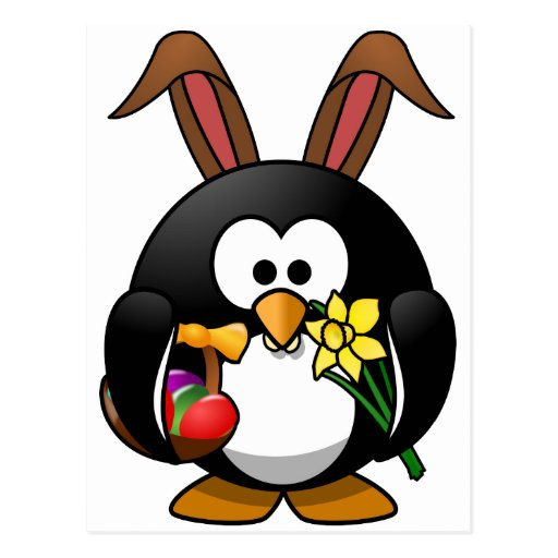 Pingüino de Pascua Postales