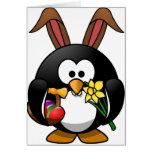 Pingüino de Pascua Tarjetas
