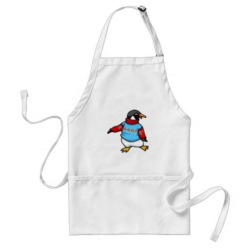 Pingüino de Pringle Delantal