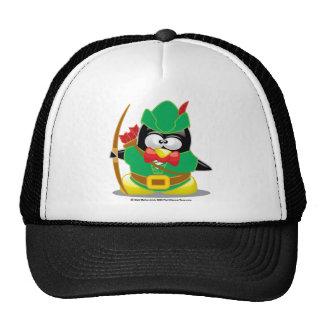 Pingüino de Robin Hood Gorro De Camionero